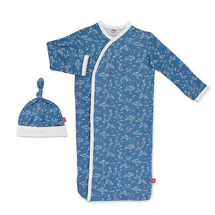 Magnetic Me Blue Sky Bunny Magnetic me gown set