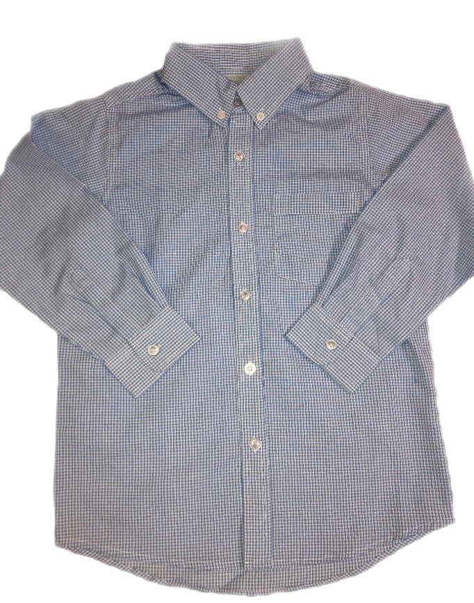Remember Nguyen Light Blue Brother Long Sleeve Button Up Shirt
