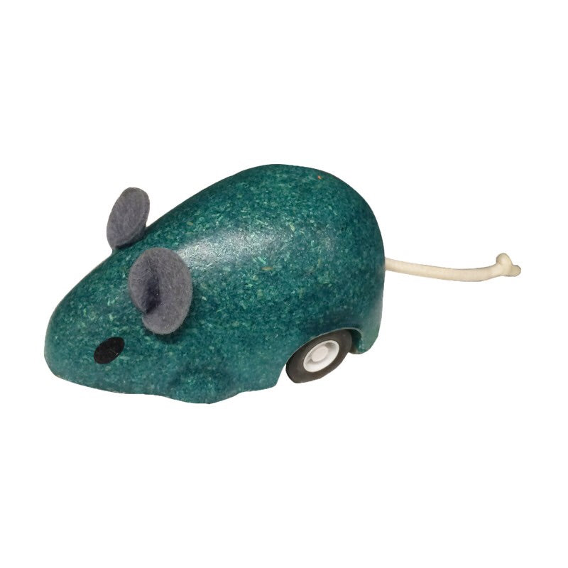 Plan Toys Turquoise Moving Mouse