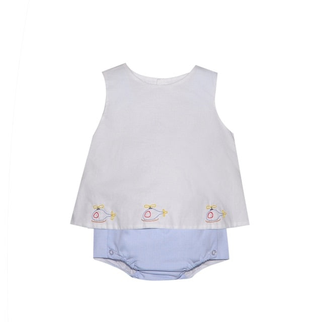 Remember Nguyen Baby Helicopter Diaper Set