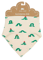 Angel Dear Inchworm Bandana Bib