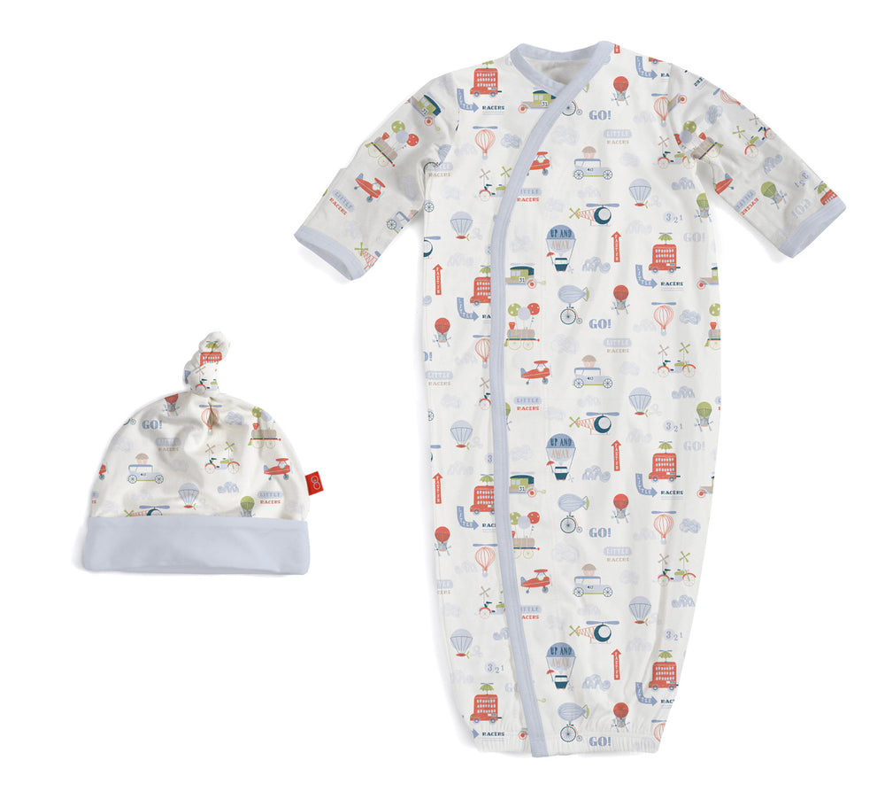 Magnetic Me Little Voyager Newborn Gown