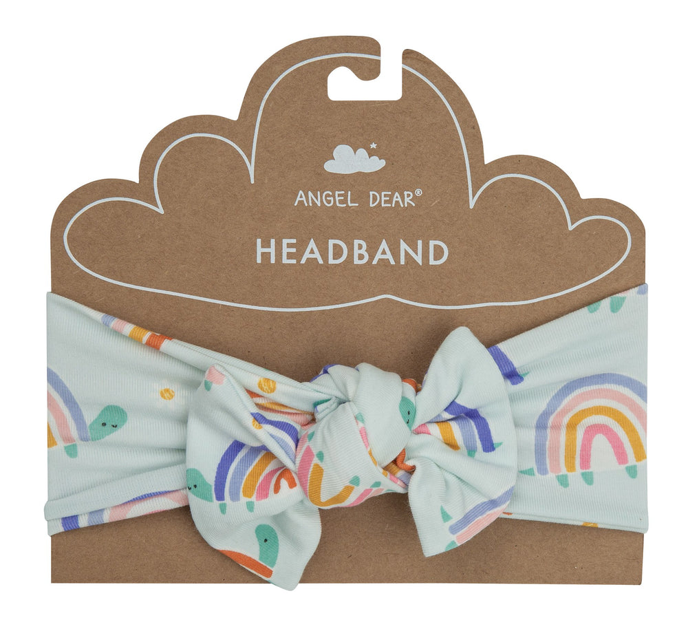 Angel Dear Rainbow Turtles Headband