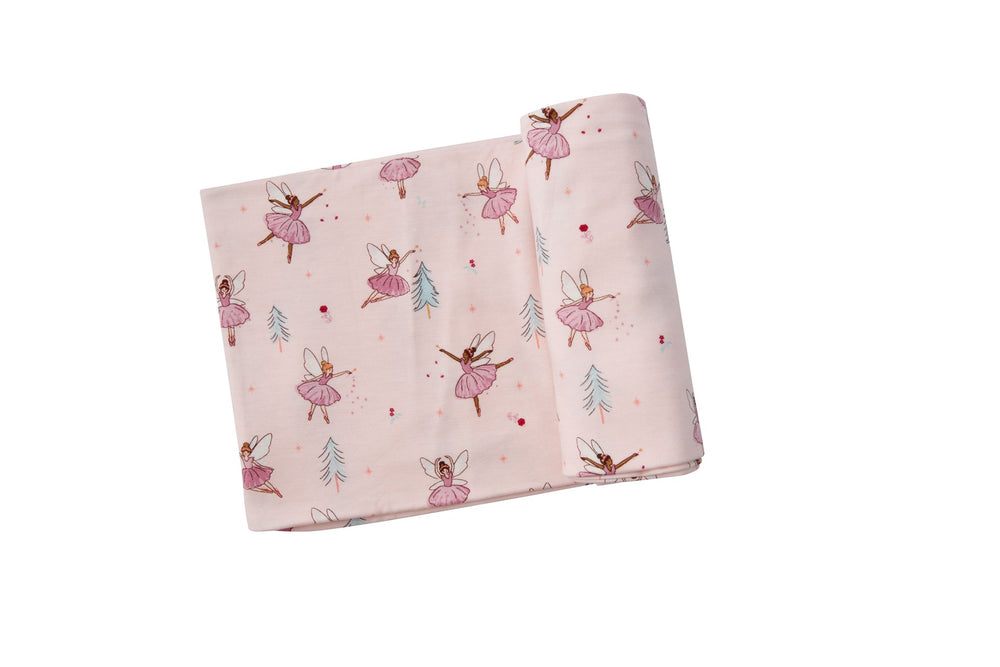 Angel Dear Sugarplum Fairies Swaddle Blanket