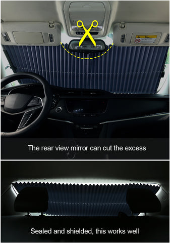 FastandTune - Retractable Car Sunshade