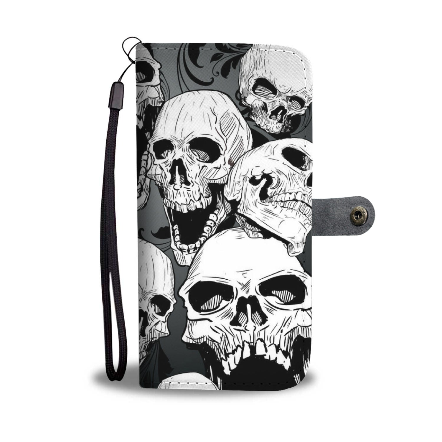Angry Skulls - Wallet case - fastandtune