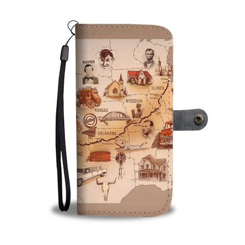 Old Route 66 - Wallet case - fastandtune