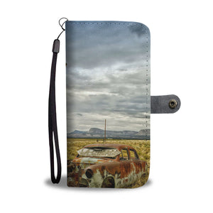 Vintage Car - Wallet case - fastandtune