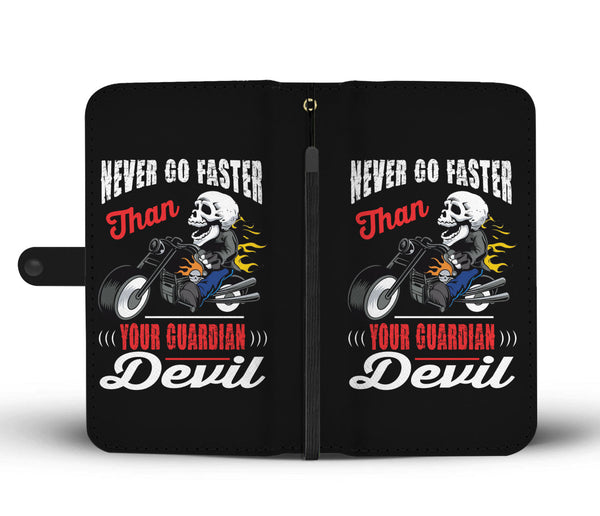 Never go faster than your Guardian Devil - Wallet case - fastandtune