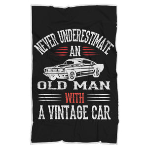 Never Underestimate an Old Guy - Blanket - fastandtune