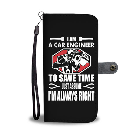 I am a Car Engineer - Wallet case - fastandtune