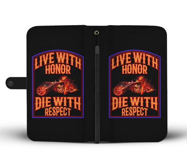 Live with Honor - Wallet case - fastandtune
