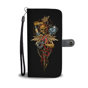 Hot Rod Heartbeat - Wallet case - fastandtune
