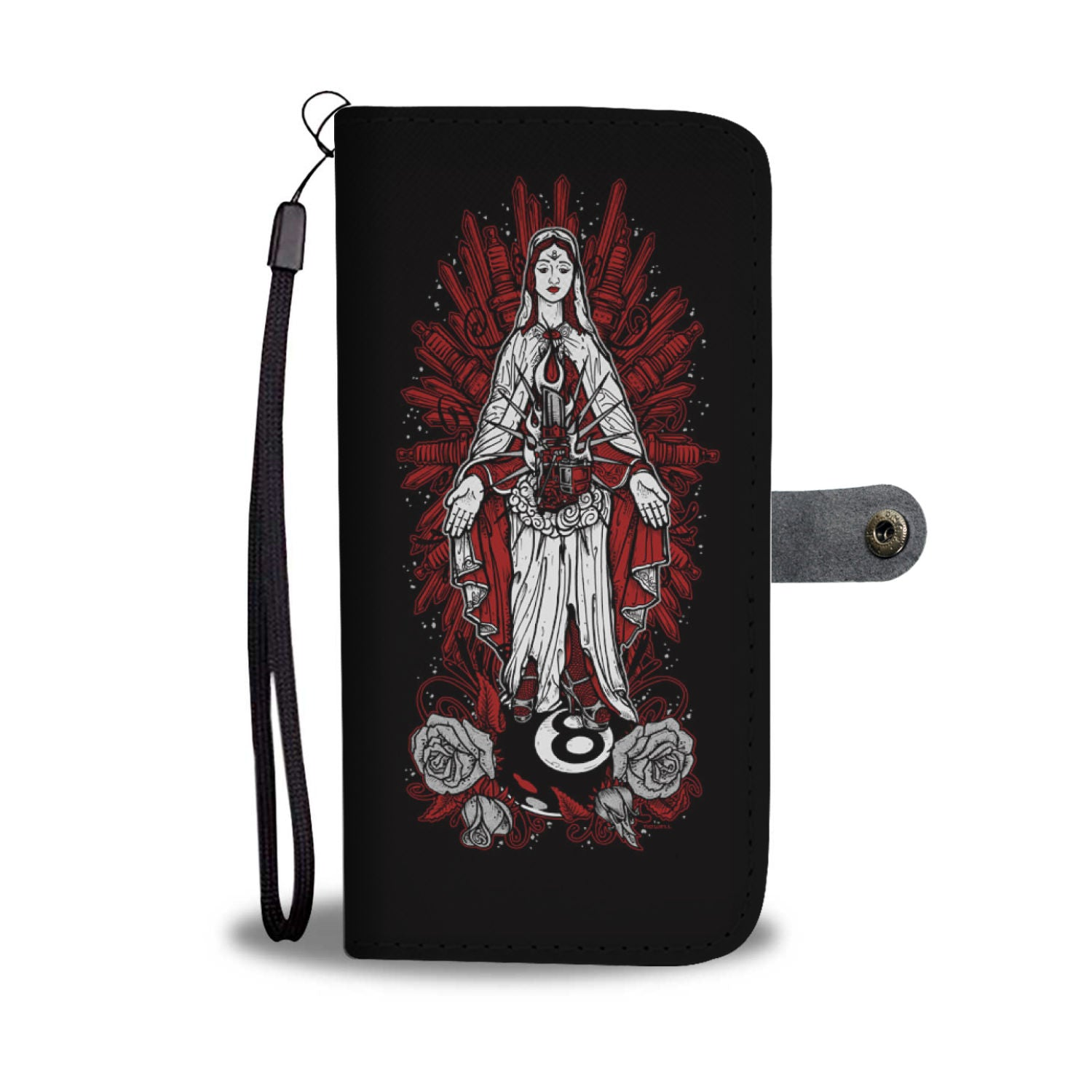 Hot Rod Mary - Wallet case - fastandtune