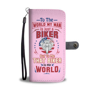 My Man is just a Biker - Wallet case - fastandtune