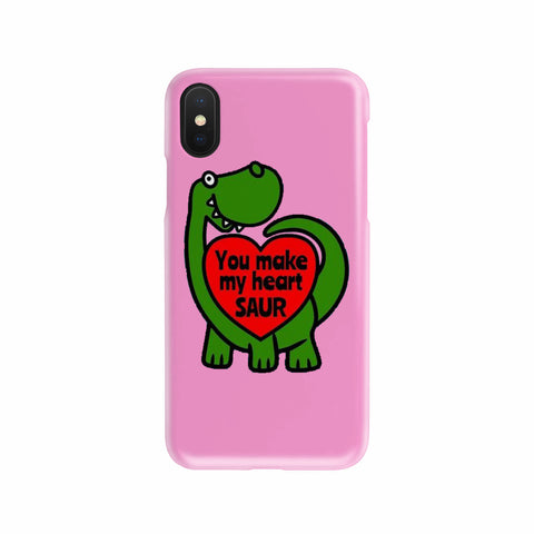 You make my Heart SAUR - Phone case - fastandtune