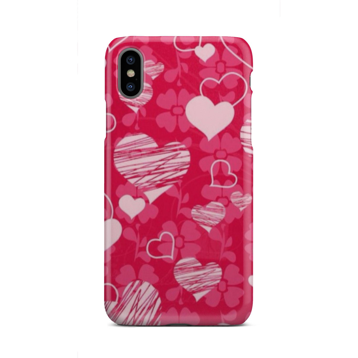 Hearts and Luck - Phone case - fastandtune