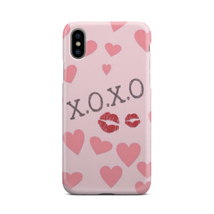 XOXO and Kisses - Phone case - fastandtune