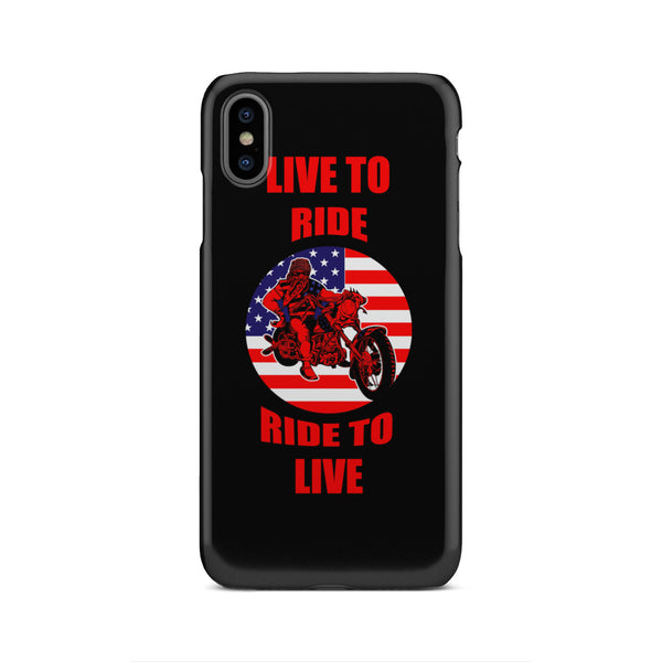 Live To Ride Ride To Live - Phone case - fastandtune