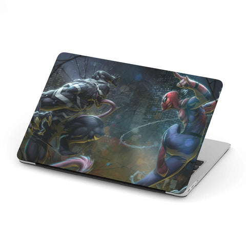 Spidy vs. Venom - MacBook case - fastandtune