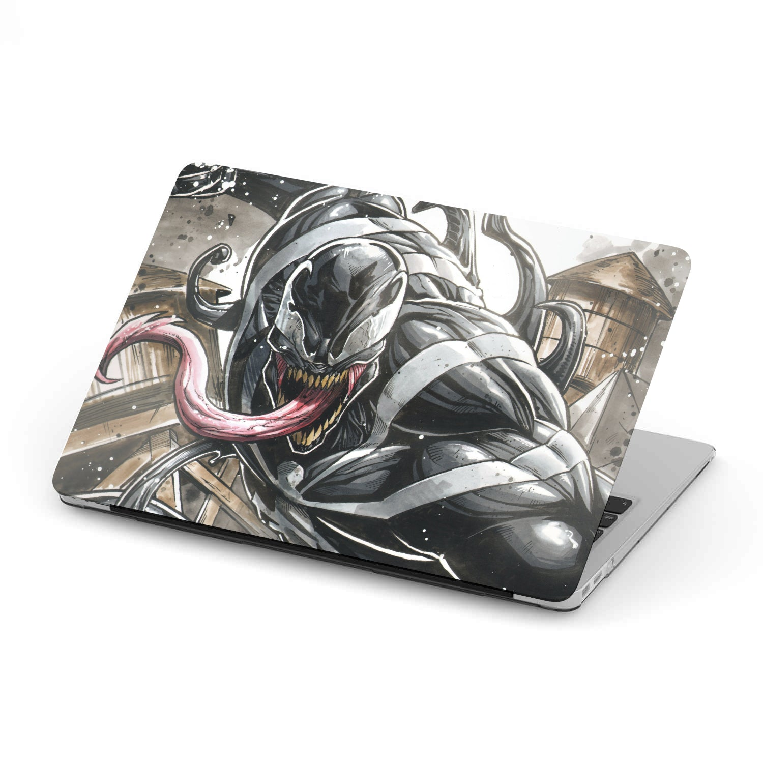 Angry Venom - MacBook case - fastandtune