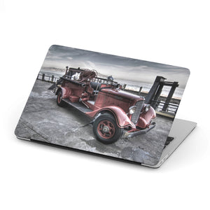 Old Firefighter Car - MacBook case - fastandtune
