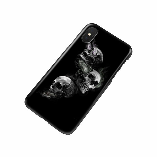 Skulls on Fire - Phone case - fastandtune