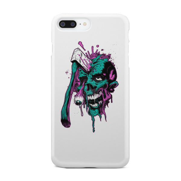 Skull shoot! - White Phone case - fastandtune