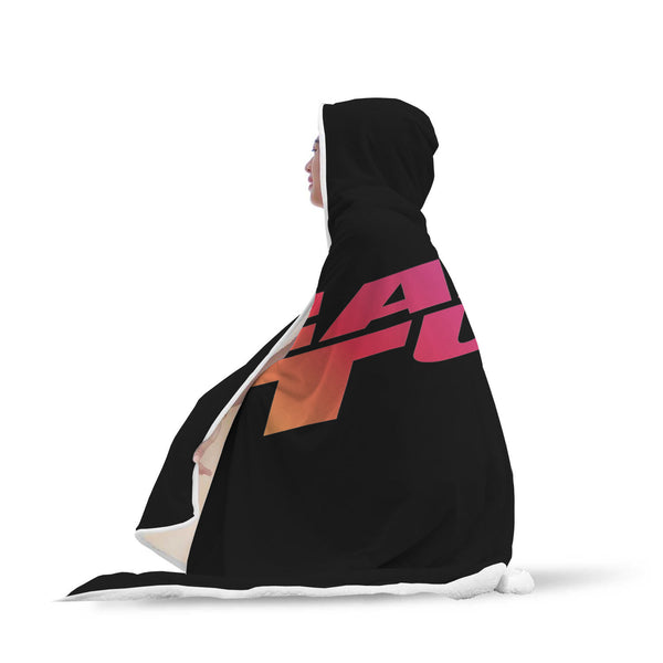 Fast and Tune Black Logo - Hooded blanket - fastandtune