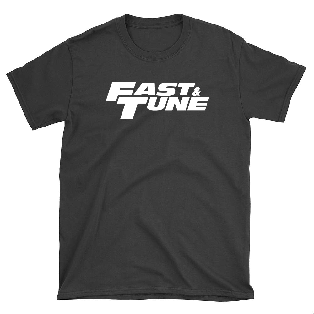 Fast and Tune White Logo - T-Shirt - fastandtune