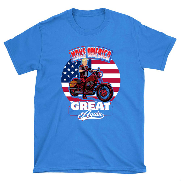 Donald the Biker - T-Shirt - fastandtune