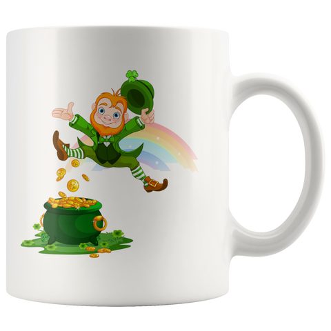 I Found Gold - White Mug - fastandtune