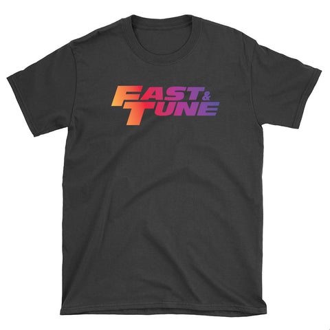 Fast and Tune Rainbow Logo - T-Shirt - fastandtune