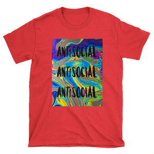 Antisocial - Unisex T-Shirt - fastandtune