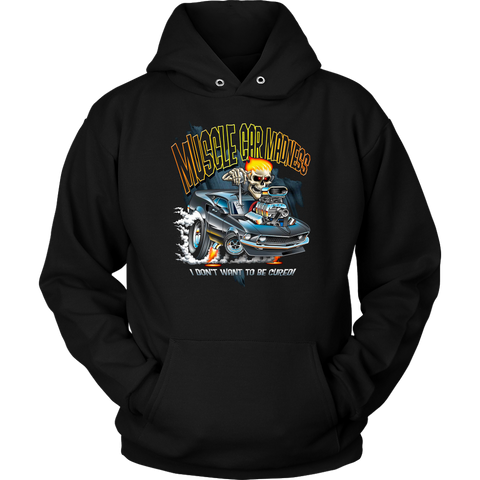 Muscle Car Madness - Hoodie - fastandtune