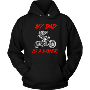 My Dad is a Biker - Hoodie - fastandtune