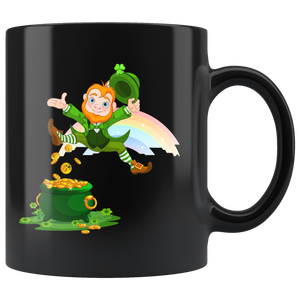 I Found Gold - Black Mug - fastandtune