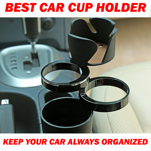 Car Storage Cup Holder - fastandtune
