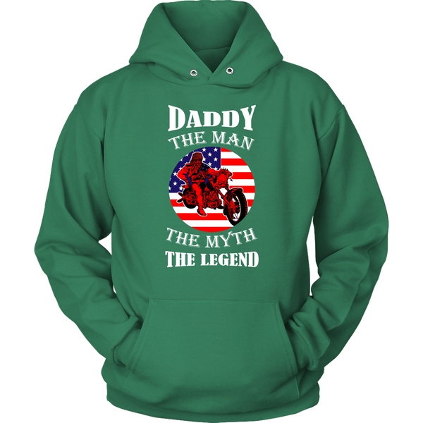 Daddy The Man The Myth The Legend - Hoodie - fastandtune