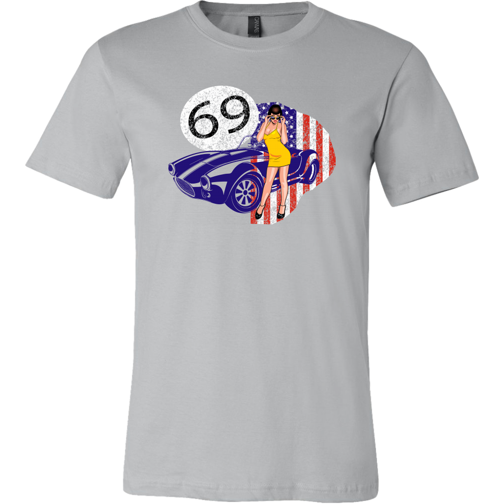 Car of 69 - T-Shirt - fastandtune