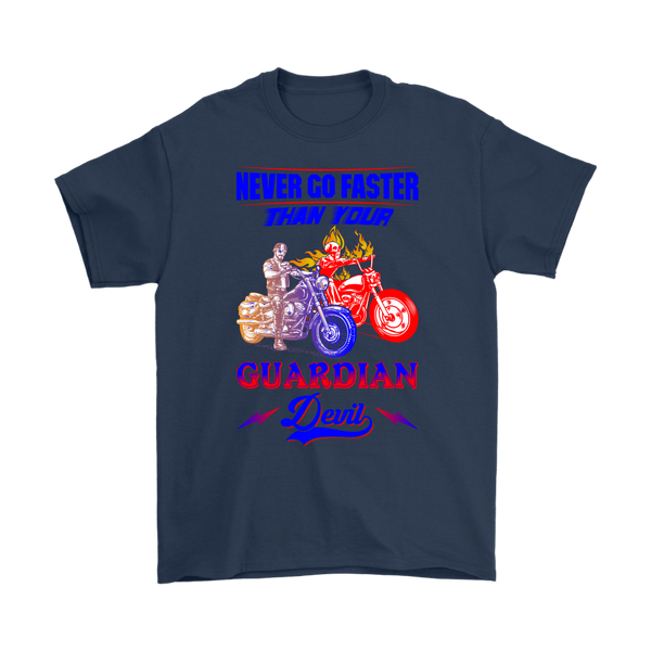 Never go faster Than your Guardian - T-Shirt - fastandtune