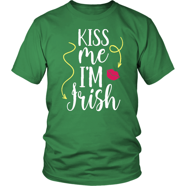 Kiss me I'm Irish - T-Shirt - fastandtune