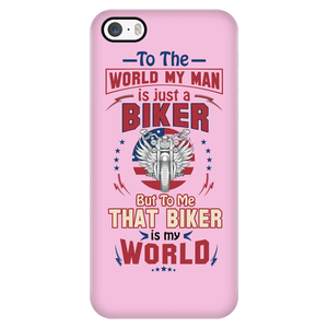My Man is just a Biker - Phone case - fastandtune