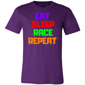 Eat Sleep Race Repeat - T-Shirt - fastandtune