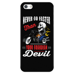 Never go faster than your Guardian Devil - Phone case - fastandtune