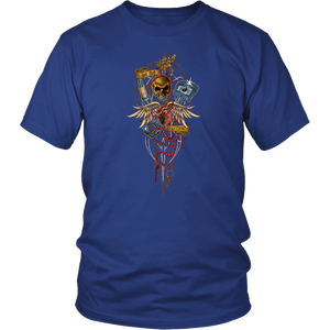 Hot Rod Heartbeat - T-Shirt - fastandtune