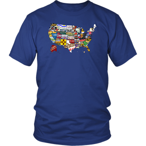 Route 66 - T-Shirt - fastandtune