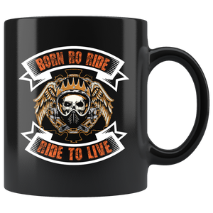 Born to Ride, Ride to Live - Mug - fastandtune