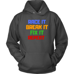 Race it, break it ... - Hoodie - fastandtune