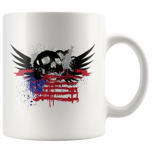 Skulls and Wings - Mug - fastandtune
